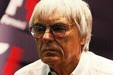 Formel 1 - Die Regierung soll Silverstone unter die Arme greifen: Ecclestone wird ungeduldig