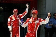 Formel 1 - Auf den Stammpl�tzen: Ferrari macht es wie immer