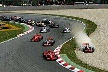 Formel 1 - Massa siegt im Ausfallfestival: Spanien GP