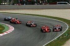Formel 1 - Riskantes Man�ver: Massa vs. Alonso
