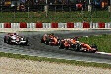 Formel 1 - Zuverl�ssig und nicht mehr ganz langsam: Beide Spyker im Ziel