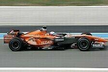 Formel 1 - Es sieht gut aus: Winkelhock und Spyker