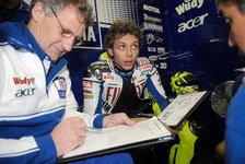 MotoGP - Reifensorgen bei Rossi