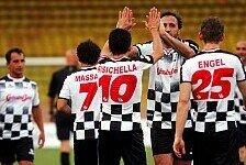 Formel 1 - Bilder: Monaco GP - Fu�ball Prominentenspiel