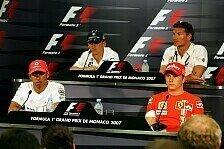 Formel 1 - Zuverl�ssigkeit, Hype und Zukunft: Pressekonferenz in Monaco