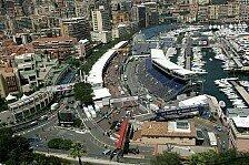 Formel 1 - Alonso vorne, Parkschaden bei Fisichella: 1. Training in Monaco