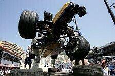 Formel 1 - Die Mittagspause entfiel: Fisichellas kleiner Unfall