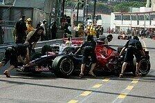 Formel 1 - Nicht alles und doch zu viel: Der Freitag bei Toro Rosso