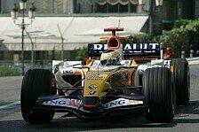 Formel 1 - Renault ist guter Dinge, BMW d�mpft die Erwartungen: Neuer Frontfl�gel f�r Renault
