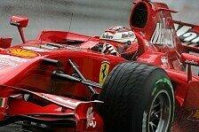 Formel 1 - Der Titel ist noch drin: Kimi R�ikk�nen ist positiv