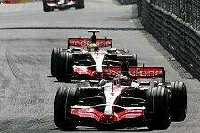 Formel 1 - Ecclestone droht mit Ausschluss: McLaren Teamorder