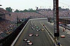 IndyCar - Starterfeld noch nicht endg�ltig: Indy 500: Einige Fragezeichen bleiben