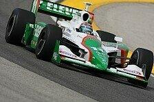IndyCar - Schwerer Unfall �berschattet Sieg von Kanaan: Rennen in Michigan