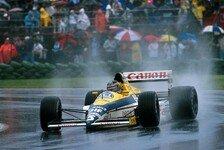 Formel 1 - Bilder: Coole Regenbilder