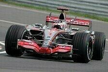 Formel 1 - Alonso ist der Freitagsmeister: 2. Freies Training