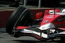 Formel 1 - Toyota f�hrt weiter: Trotz der Aufh�ngungsbr�che