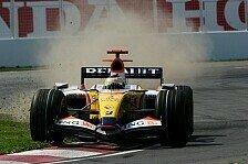 Formel 1 - Chance verpasst: Fisichella nimmt es positiv