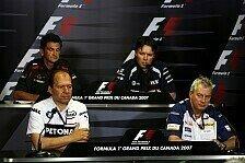 Formel 1 - �ber gro�e schwarze Dinger: Vier Techniker in Montreal