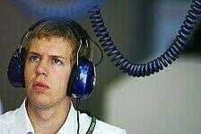 Formel 1 - Vettel vorbereitet: Kubica entt�uscht