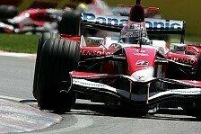 Formel 1 - Aufh�ngungen, Randsteine und zu viel Verkehr: Toyotas Dramen
