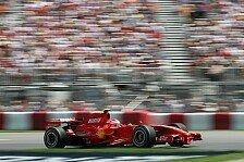 Formel 1 - Hoffen auf die Rennpace: Niederlage f�r Ferrari