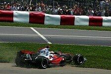 Formel 1 - Die Lotterie war gegen ihn: Alonsos Pech
