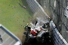 Formel 1 - Kubica ist unverletzt: Erleichterung bei BMW