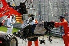 Formel 1 - Es waren 75 G: Kubica-Unfall untersucht