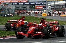 Formel 1 - Die Farbe der Ampel: Ferrari-Rot