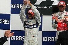 Formel 1 - Gute Nachrichten und Platz zwei: BMW Sauber emotional