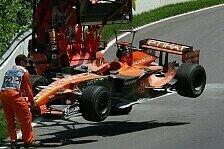 Formel 1 - Ich pushe nicht zuviel: Adrian Sutil auf Fehlersuche