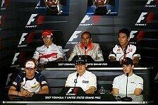 Formel 1 - Robert und f�nf andere: Donnerstags-Pressekonferenz