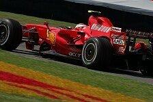 Formel 1 - Nicht vorne aber gut gelaunt: Ferrari f�hlt sich gut