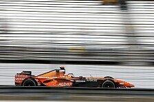Formel 1 - Immer n�her heranrobben: Spyker ohne Mauerkontakt