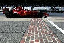 Formel 1 - Kimi R�ikk�nen h�lt erste Startreihe f�r m�glich: Ferrari wieder besser