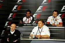 Formel 1 - Vier Teamchefs und viele bekannte Fragen: Freitags-Pressekonferenz