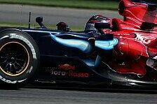 Formel 1 - Ein paar kleine Schritte: Ein Toro Rosso im Ziel