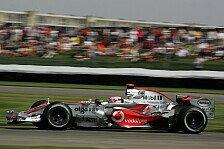 Formel 1 - Ein Podestplatz w�re eine fantastische �berraschung: Alonso genoss den Freitag