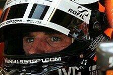 Formel 1 - Eine unsch�ne �berraschung: Albers �berlegt juristische Schritte