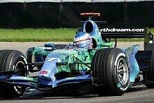 Formel 1 - Erst gewogen, dann rausgeflogen: Honda nicht schnell genug