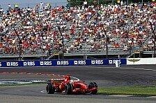 Formel 1 - Weiter am Comeback arbeiten: Ferrari nur Dritter