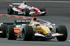 Formel 1 - Unterschiedliche Strategien?: Renault zufrieden