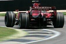 Formel 1 - Kimi R�ikk�nen wirkt zufrieden: Trotz Startplatz vier