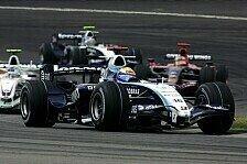 Formel 1 - Doppelte Chance, doppeltes Pech: Williams mal zwei