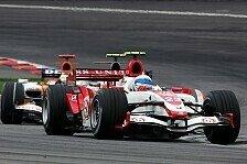Formel 1 - Davidson rettet das Wochenende: Schwieriges Rennen f�r Super Aguri