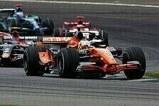 Formel 1 - Das war bitter n�tig: Spyker zwei Mal im Ziel
