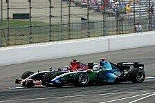 Formel 1 - Spannend, aber entt�uschend: Beide Honda mit Startunfall