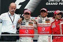 Formel 1 - Briatore glaubt an Alonso: Titelrennen