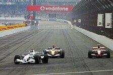 Formel 1 - Komplett Herr der Lage: Heikki Kovalainen
