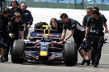 Formel 1 - Red Bull sucht die Zuverl�ssigkeit: Nach drei roten Flaggen in Silverstone